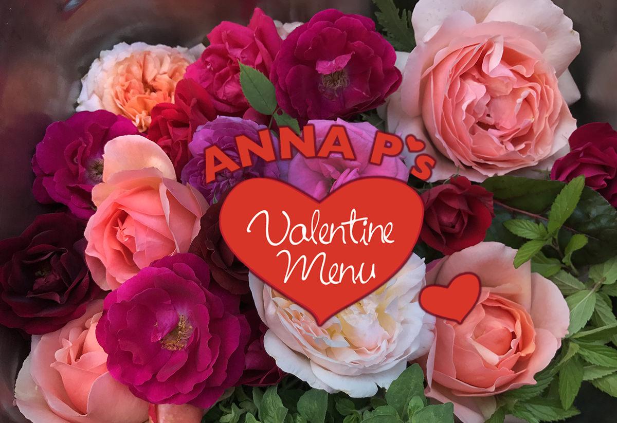 2018 Valentine Menu